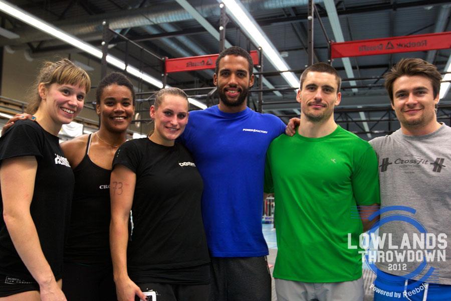Lowlands Throwdown 2012 The Final Event – CrossFit Gymert Emmy Verschuren